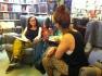 Författarsamtal på Söderköpings bokhandel