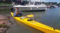 Kanot i vatten