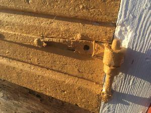 Sanden-dörr