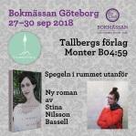Bokmässan i Göteborg2018