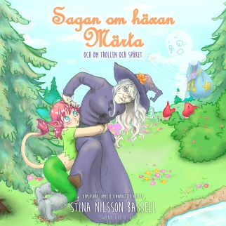 Sagan om häxan Märta - och om trollen och spöket online cover 3