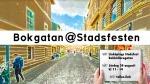 Välkomna till Bokgatan på Stadsfesten iLinköping