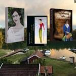 Mina böcker ute på vift iÖstergötland