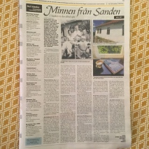 Länstidningen ö-sanden-minnen