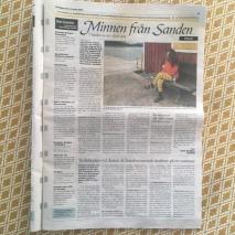 Länstidningen ö-sanden- minnen