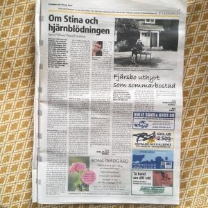 Länstidningar- hjärnbl.+ fjärsbo