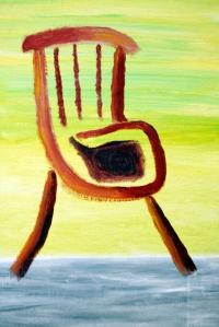 Stina Nilsson skriver böcker, målar och musiserar.