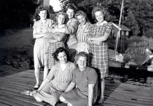 mamma-Wass pensionat Sanden. 1943-44 besk